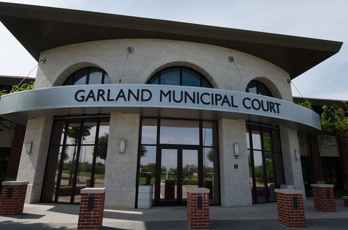 Garland Traffic Ticket